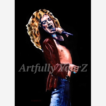 Robert Plant Original Painting