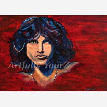 Jim Morrison Original  Painting