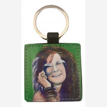 Janis Joplin Key Fob
