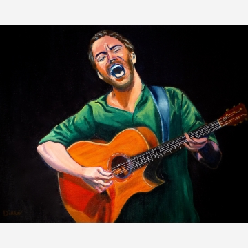 Dave Matthews Original Painting