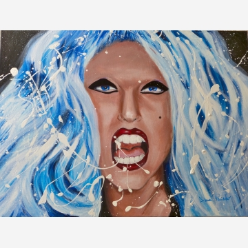 Lady GaGa Original Painting